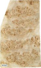 Mappa Burl Wood Veneer 19 X 31 Raw With No Backing 142 Thickness Aaa Grade
