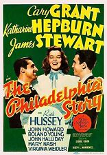 James Stewart The Philadelphia Story 1940 Film Vintage Movie Poster Art Print A4