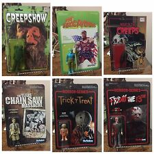 Retro Reaction Super7 Custom 12 Figure Lot Freddy Jason Evil Dead Horror Toys