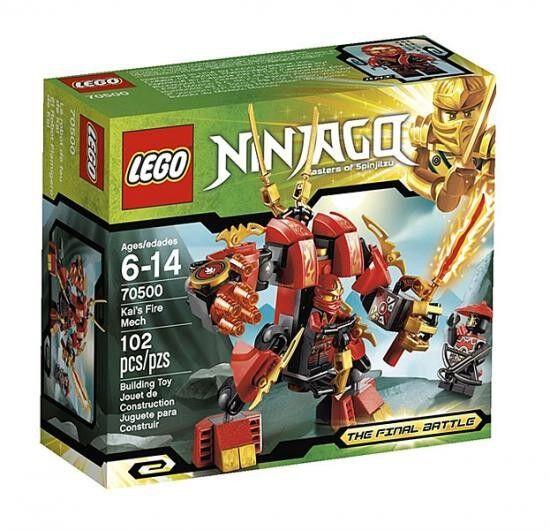 LEGO Ninjago The Final Battle Kai's Fire Mech Set