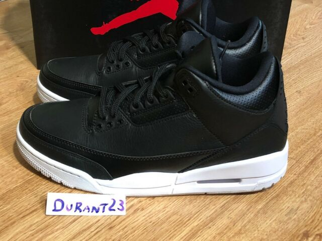 c85f65b4d7d7 Mens Nike Air Jordan 3 III Retro Cyber Monday Black White 136064-020 ...