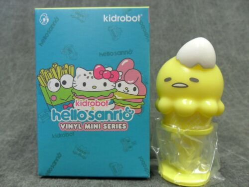 Kidrobot Hello Sanrio NEUF Gudetama ICE CREAM 2//24 ouvert Blind Box Kitty