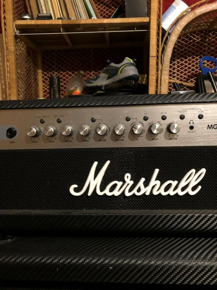 Guitaranlæg, Marshall Mg100hcfx , 100 W