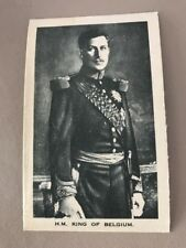 silk Belgian Royalty A1 H M King Of Belgium P Size 139x85mm Anonymous
