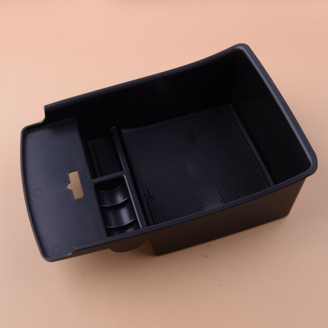 Center Console Armrest Storage Box Pallet Tray Bin Fit For