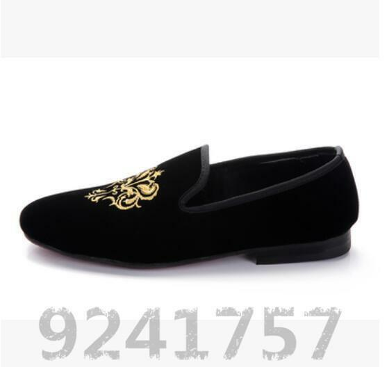 Herrenschuhe Loafers Halbschuhe Nachtclub Slipper Stickerei. Loafers Herrenschuhe NEU Gr:38-44 8fa612