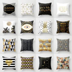 Gold-Marble-pineapple-Polyester-pillows-case-throw-sofa-cushion-cover-Home-Decor