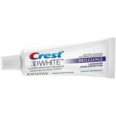 Crest 3d White Brilliance Teeth Whitening Toothpaste Ebay