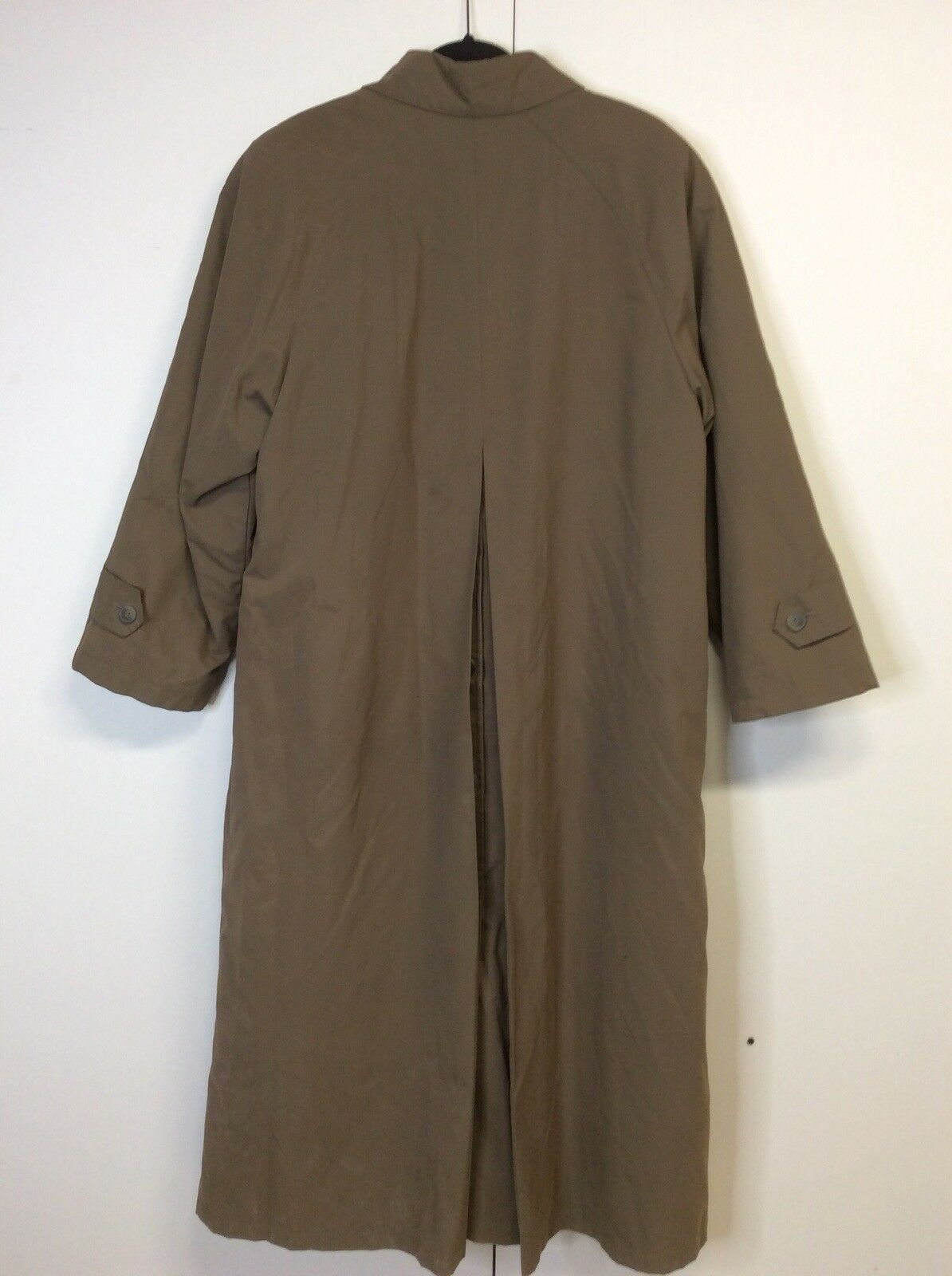 London Fog Women's Fleece Lined Over Coat Coat Coat long Length Sz 8   70a40e