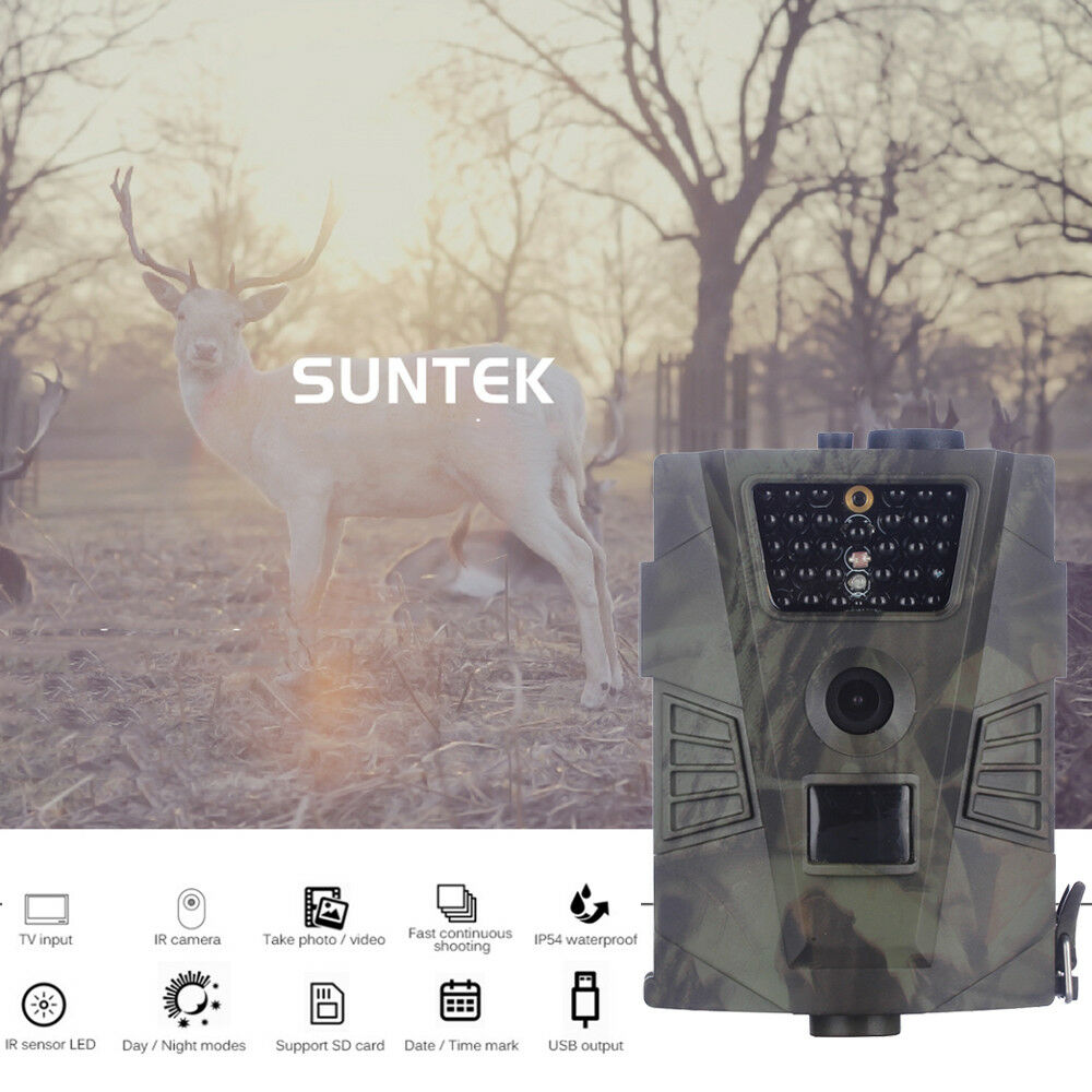 Night Vision Wild Camera Hunting Trail  Camera Field Monitoring HT-001  in stadium promotions