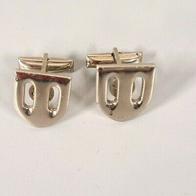 Vintage Cuff Links Pat #1950711 RP on Silver