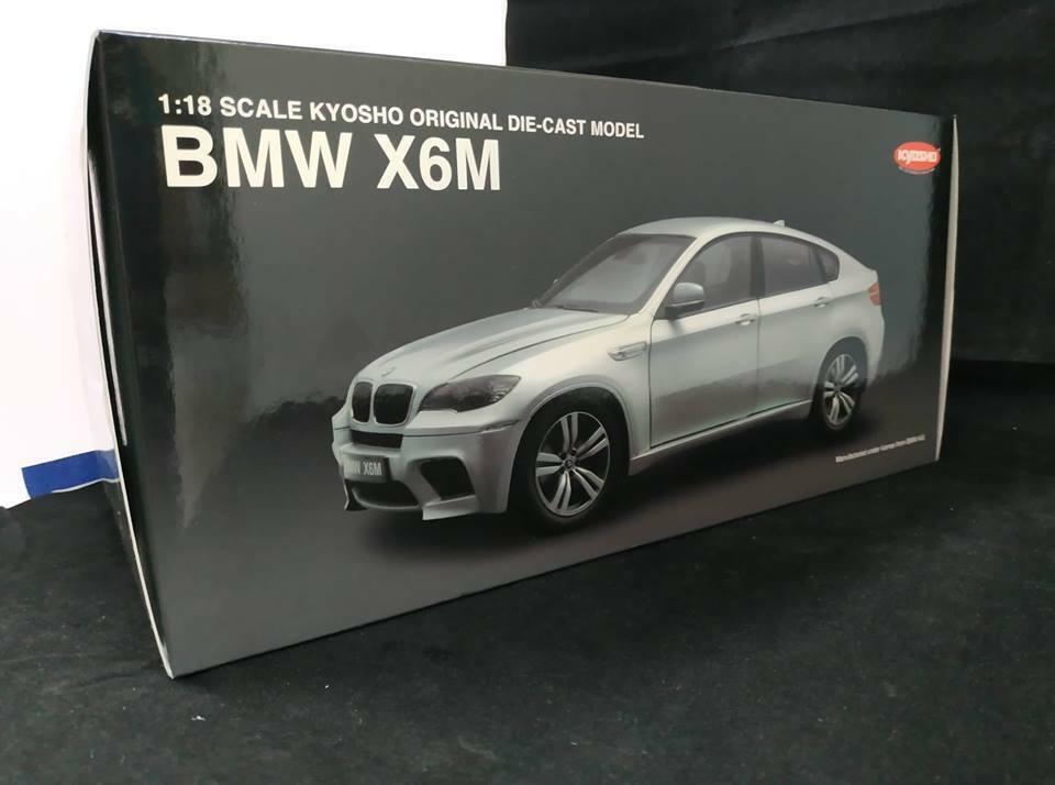 BMW x6m Kyosho Original-Moulé Modèle 1 18 échelle...