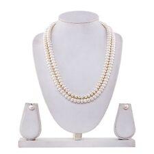 MY DT Lifestyle Double Line Pearl Necklace set (PRL2)