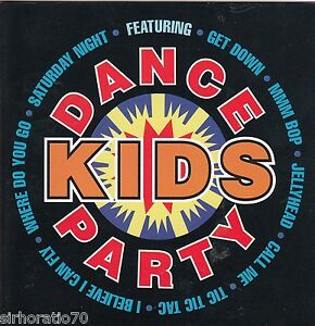 DANCE-KIDS-PARTY-CD