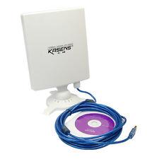 Kasens N9600 802.11b/g/n 6600MW USB Wireless Wifi Adapter 80dbi 150Mbps Antenna