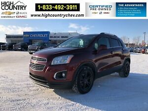 2016 Chevrolet Trax AWD 4dr LTZ, LEATHER, SUNROOF, REMOTE STARTER