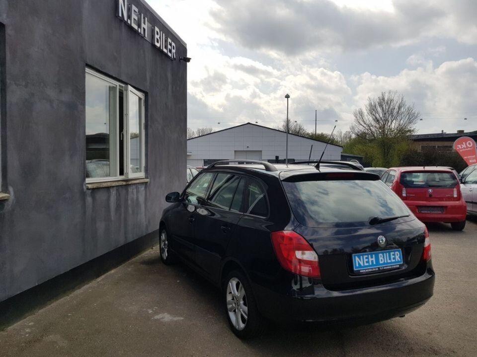 Skoda Fabia, 1,4 16V Sport Combi, Benzin