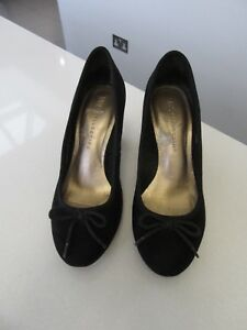 Ladies-Marks-amp-Spencer-On-Shoes-Size-3-Black-Nice-For-Every-Day-Use