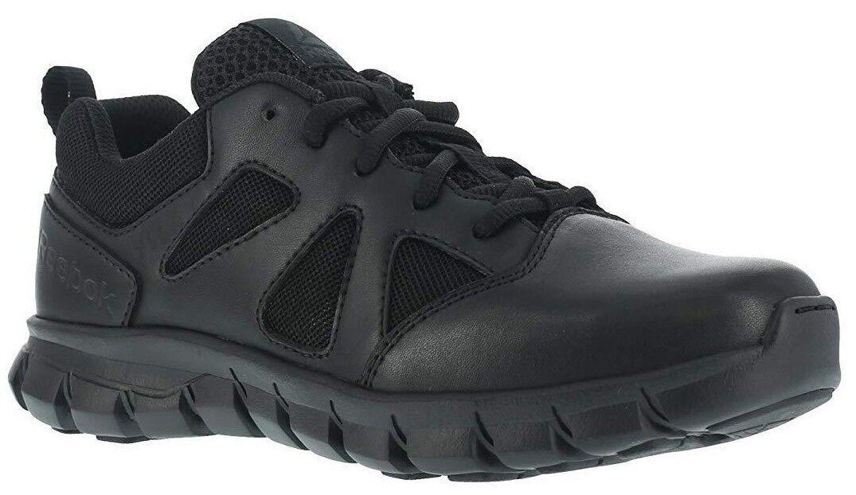Reebok RB8105 Men Black Lightweight Sublite Cushion Tactical Oxford Work shoes