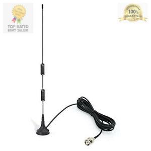 Vhf Uhf Ham Radio Police Scanner Antenna Amateur Mobile Magnetic Base Bnc Male Ebay