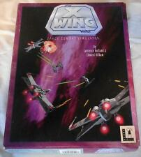 Lucas Arts Star Wars X Wing Space Combat Simulator Computer Game dated 1992