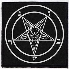 BAPHOMET PATCH / SPEED-THRASH-BLACK-DEATH METAL