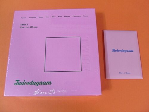 TWICE CD +Photo Booklet PO BENEFIT Photocard SET K-POP Twicetagram A Ver.