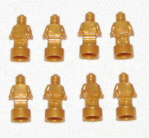 LEGO LOT OF 50 NEW SMALL BLUE STATUES TROPHY STATUETTE PIECES