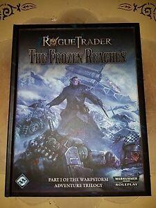 ffg warhammer 40k rpg hardcover rogue trader the frozen reaches