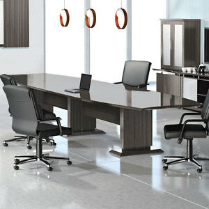 MODERN CONFERENCE ROOM TABLE Boardroom Meeting Office - 8 foot conference room table