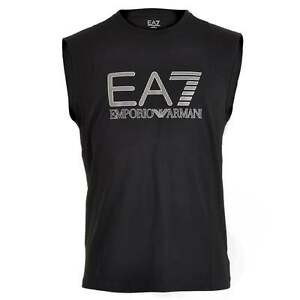 05ce3222ab Details about EA7 Emporio Armani Men's Train Visibility Logo Tank Top, Dark  Sleeveless T Shirt