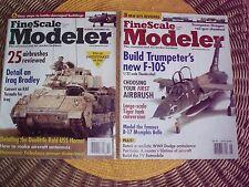 FINE SCALE MODELER- 2 back issues  2004