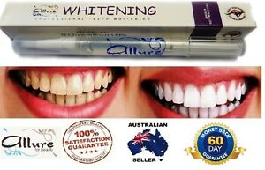 Allure Teeth Whitening Pen Tooth Gel 6 Hp High Strength Home Use
