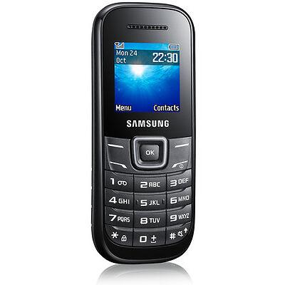 Samsung  Guru GT-E1200T - Black - Mobile Phone