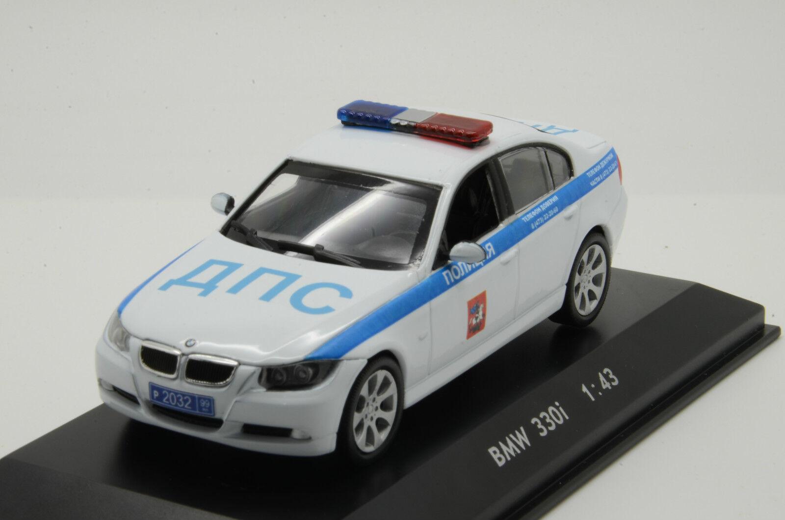 Mega RARE    BMW 3er Police Milicya Russian 1 43
