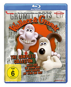 Blu-ray-Wallace-amp-Gromit-Complete-Collection-NEU-OVP