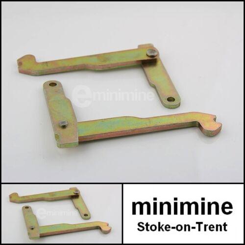 Classic Mini Handbrake Lever Kit PAIR SMN10005 austin rover rear drum backplate