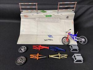 Tech-Deck-Fingerboard-Skate-Park-Flick-Trix-Ditch-Ramp-Bike-Frames-amp-Parts