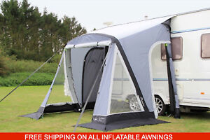 NEW Sunncamp Swift AIR 220 Inflatable caravan porch awning ...