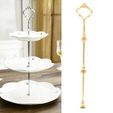 1//4//10 Set 2//3 Tier Cake Cupcake Dessert Plate Stand Handle Fittings Center Rod