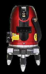 LS-222 Rotary Laser Level 4 vertical 1 horizontal line Surveying Autolevels