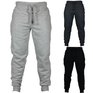 FT-Men-Fashion-Solid-Drawstring-Long-Pants-Sport-Gym-Trousers-Sweatpants-Stylis