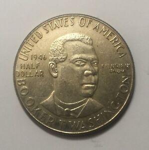MEDIO-DOLAR-DE-PLATA-USA-1946-BROOKER-T-WASHINGTON-MEMORIAL