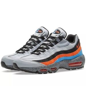 Nike Air Max 95 PRM Wolf GreySafety Orange 538416 015