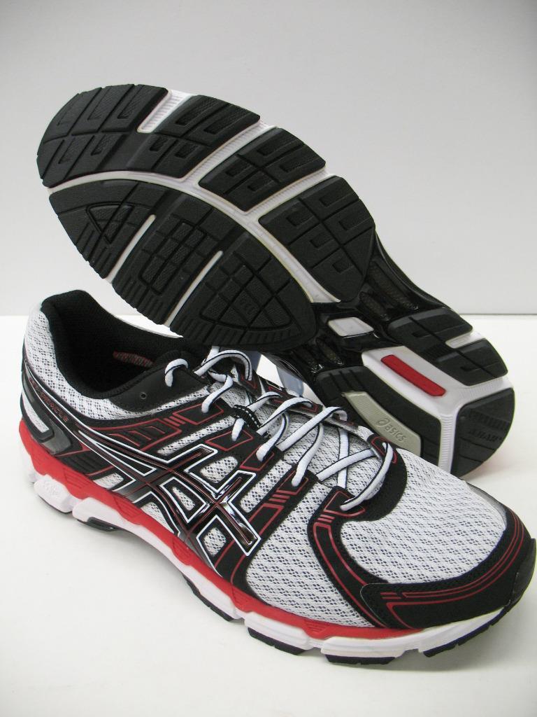 New Asics T341N Gel Oracle Running Running Running Training shoes Sneakers White Black Red Mens ebfcef