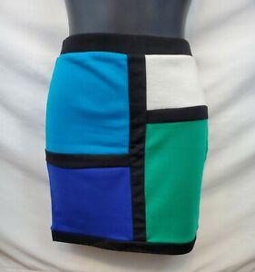 Color Block Skirt Size Medium