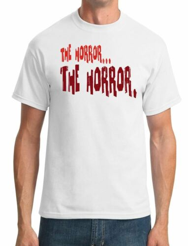 Apocalypse Now Movie Inspired Mens T-Shirt - The horror...the horror