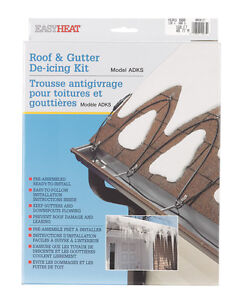 Image Is Loading Easy Heat Electric Roof Amp Gutter De Icing