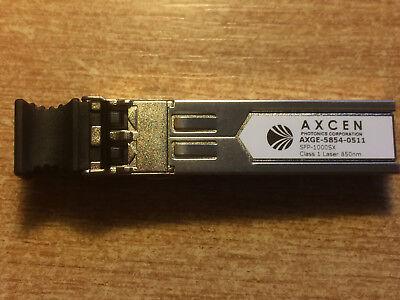 Axcen 1000 Base-sx Sfp + Ricetrasmittente-numero Parte Axge-5854-0511 - 850 Nm-
