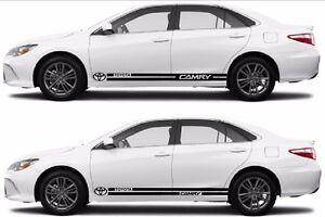 Toyota Camry Logo Design Sticker Strip Car Vinyl Side Graphics